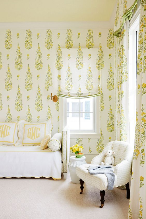 Galbraith & Paul Persian Garden floral wallpaper and fabric