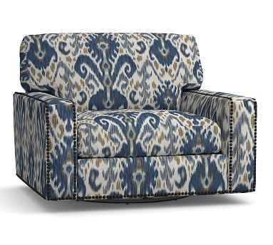 Pattern match mismatched Pottery Barn ikat chair