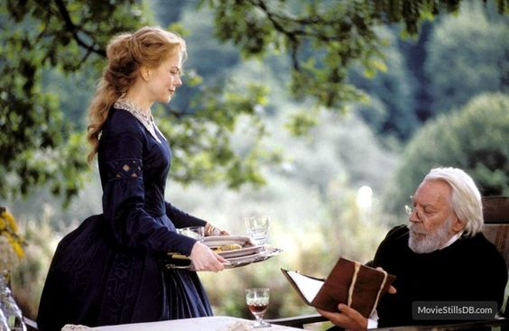 1 Outdoor dining Cold Mountrain Nicole Kidman Donald Sutherland