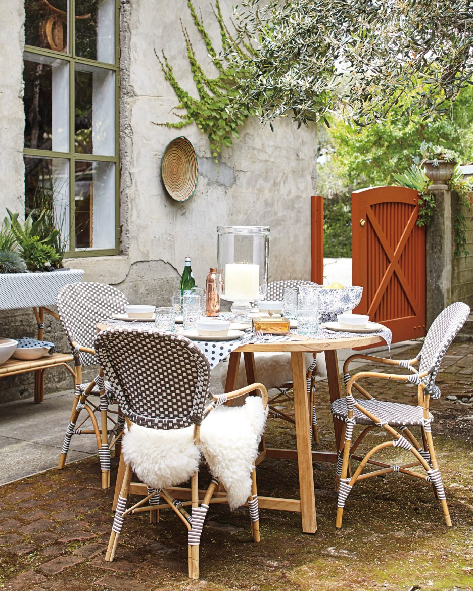 Outdoor Dining Serena Lily Crosby Dining