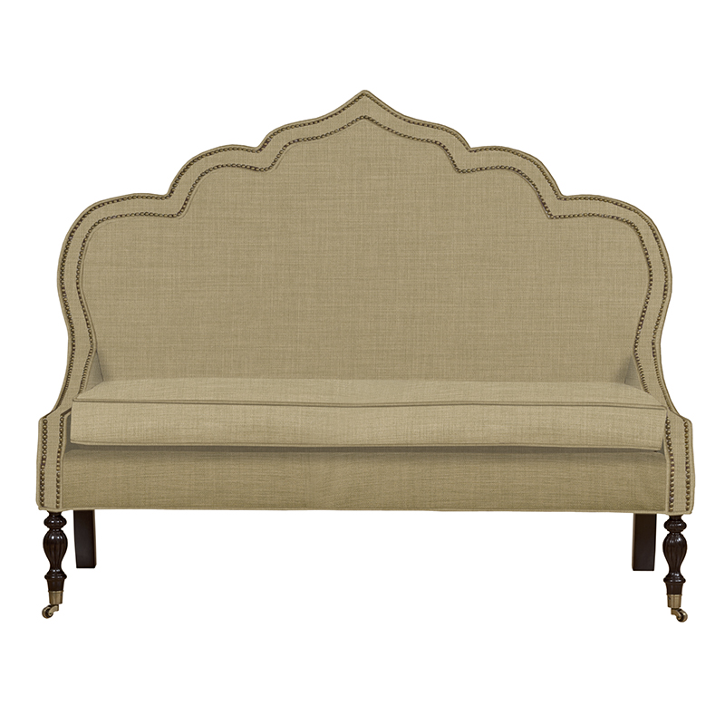 Duralee Mina settee dining banquettes settees