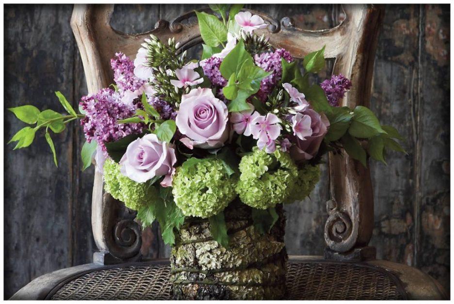 Prudence Designs & Events purple flowers royal wedding reception