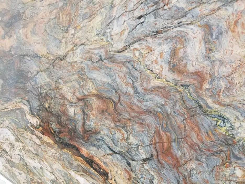 Quartzite-Fusion-Wow Peach Blue color palette