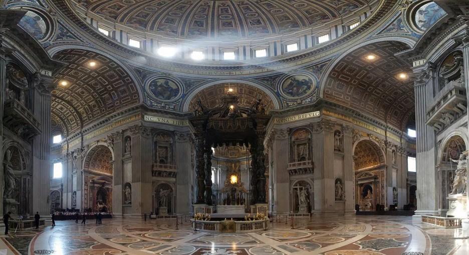 St. Peter's Basilican Vatican Altar Met Gala