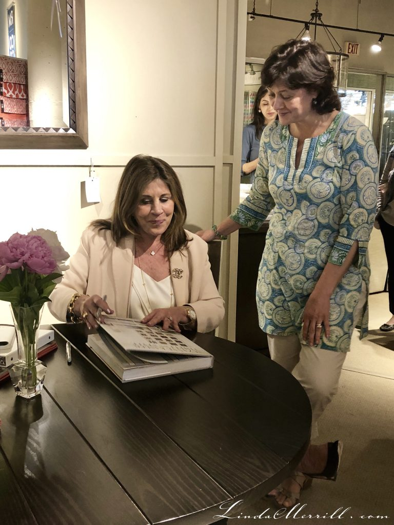 Suzanne Kasler Interior designer book signing at Boston Design Center Photo by Linda Merrill