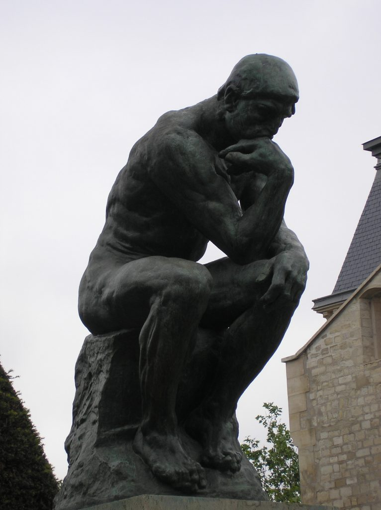 Travel Tuesday The Thinker Le Penseur
