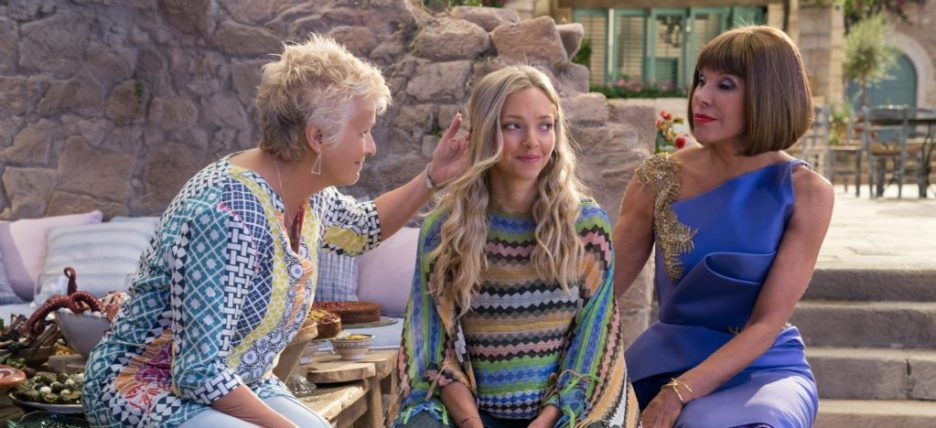 Mamma Mia Here We Go Again Julie Walters Amanda Seyfried Christine Baranski