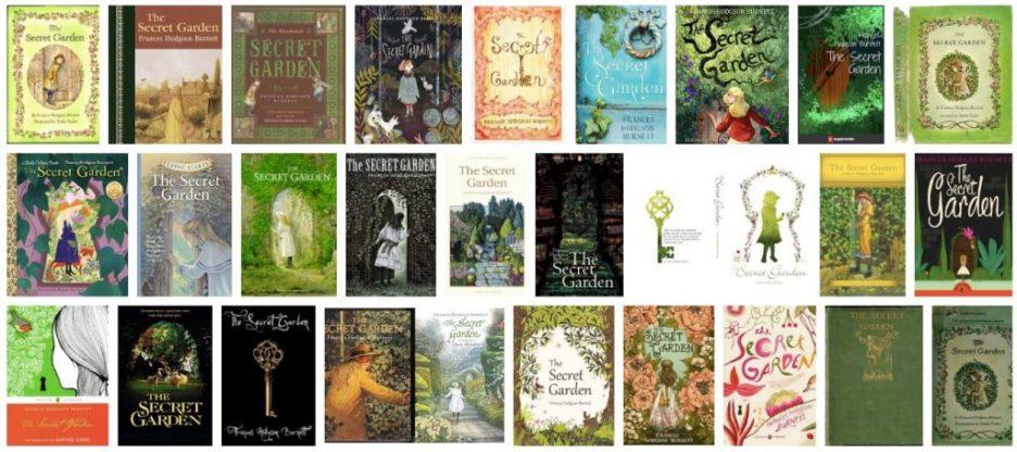 The Secret Garden book covers