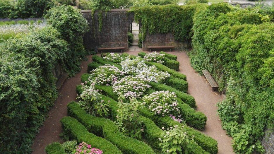 secret garden in Germany
