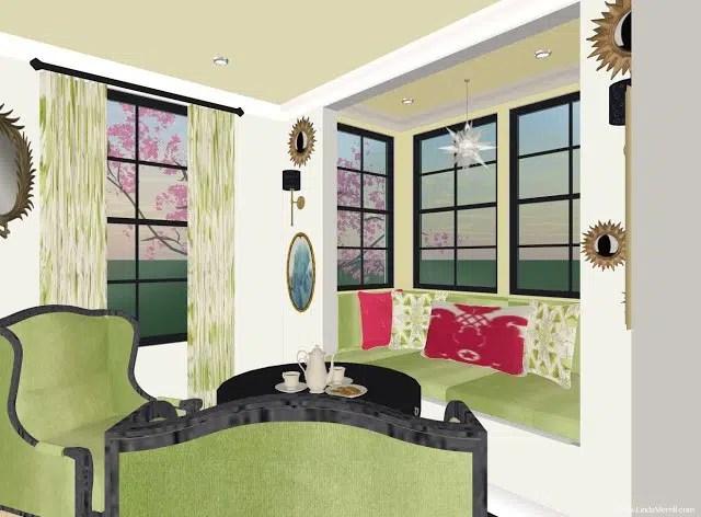 Linda Merrill design dream house reading nooks and snugs