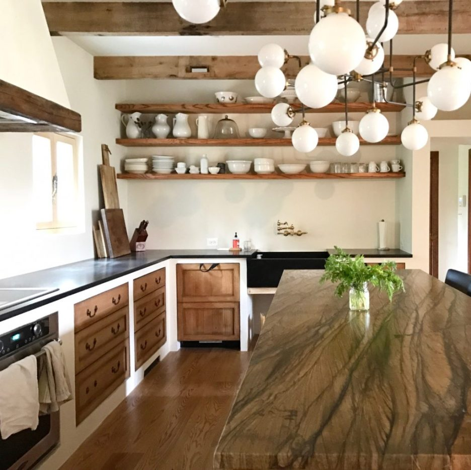 Lauren Liess design Rustic Kitchen