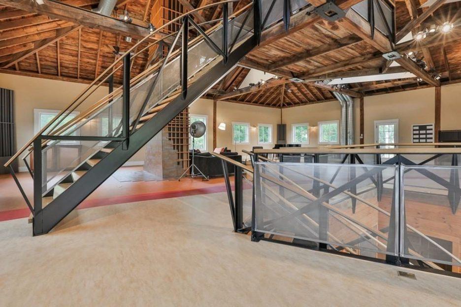 Newburyport modern carriage house conversion Andrew Sidford Architect interior 5