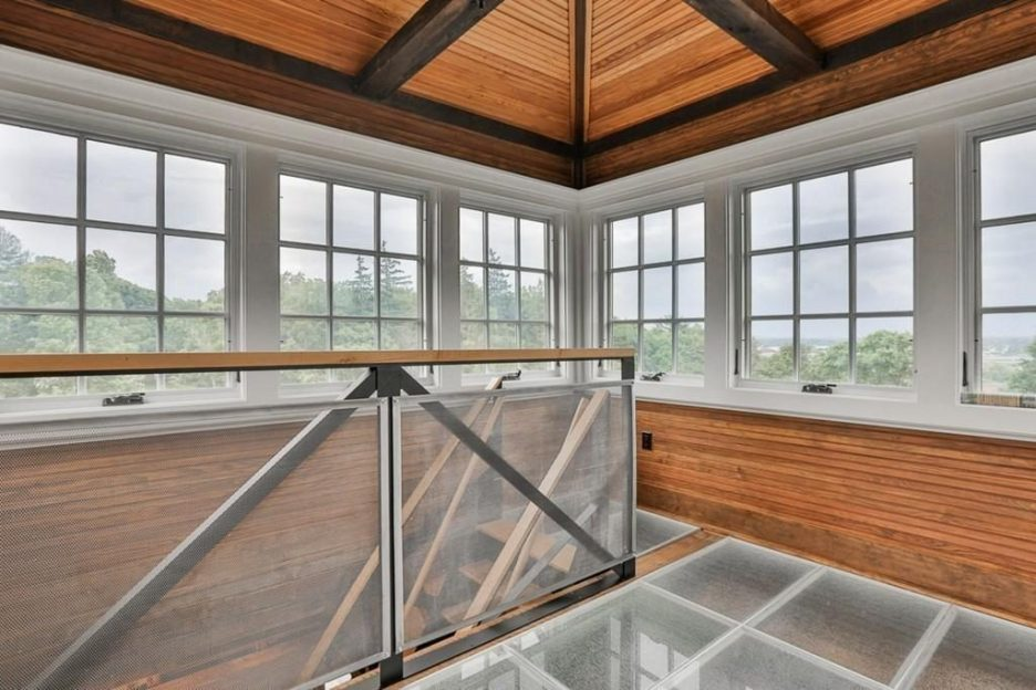 Newburyport modern carriage house conversion Andrew Sidford Architect interior 8