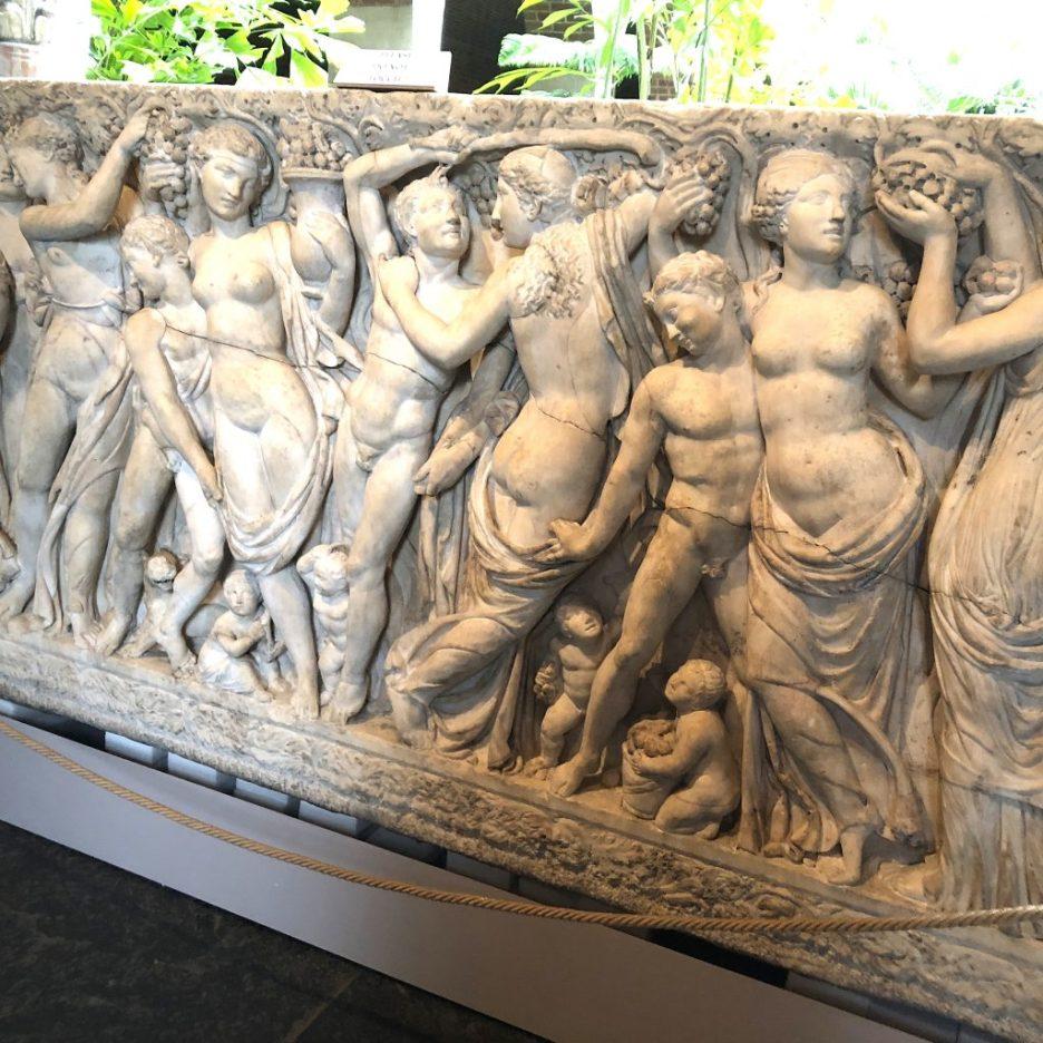 Linda Merrill Staycation Isabella Stewart Gardner museum carved stone frieze