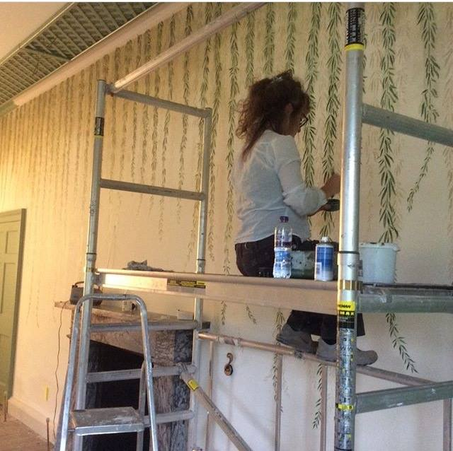 Argowan Estate Willow room artist painting Ordeal by Innocence