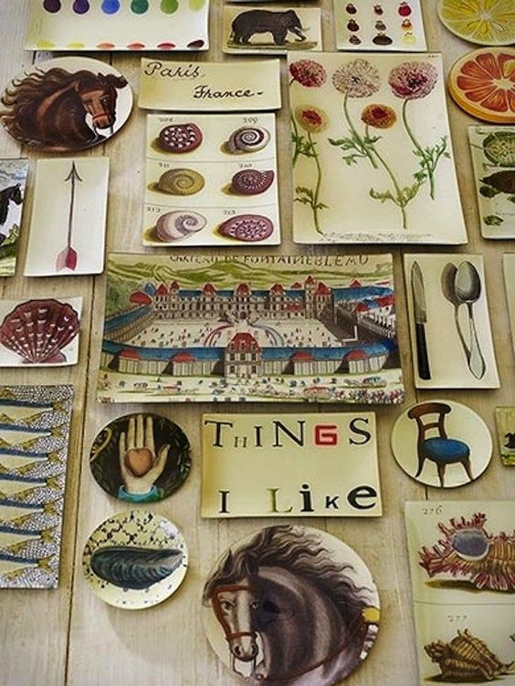 John Derian Decoupage plates and dishes