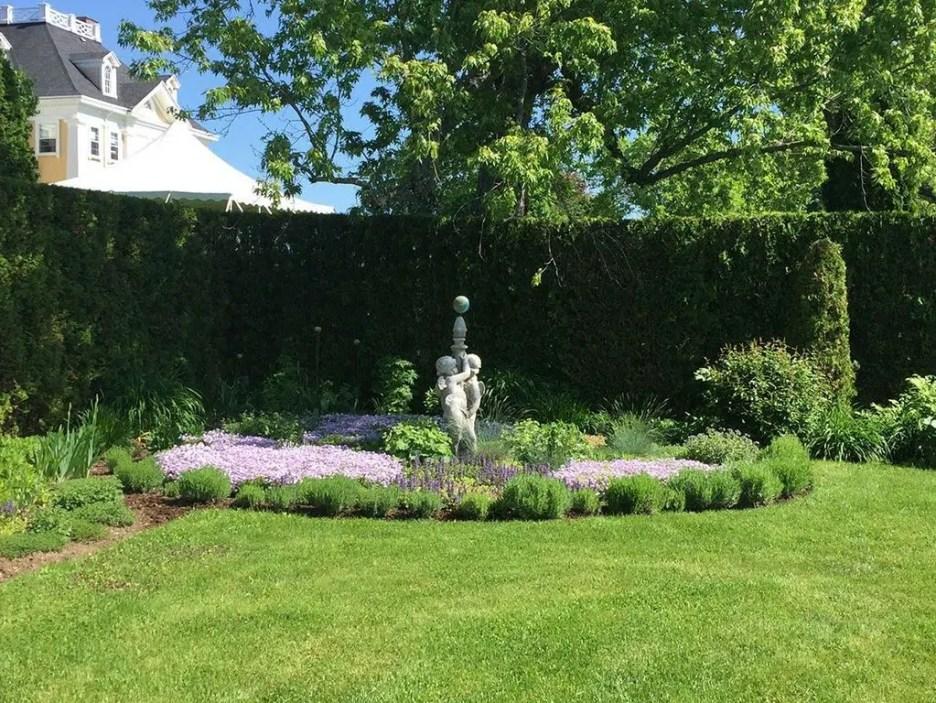 Burklyn Hall garden statue
