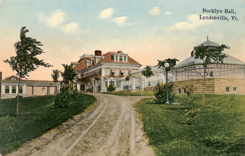 Burklyn Hall postcard