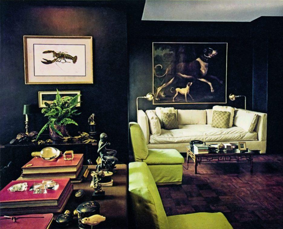 Billy Baldwain Living Room Inspired Design Fall 2018 Design Books
