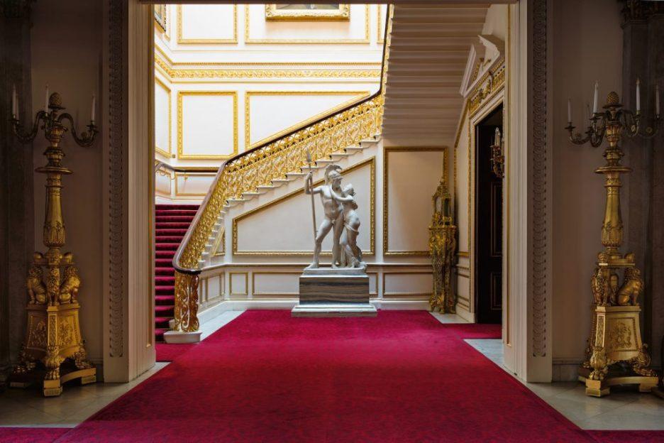 Buckingham Palace Ashley Hicks Ballroom minister stair Fall 2018 Design Books