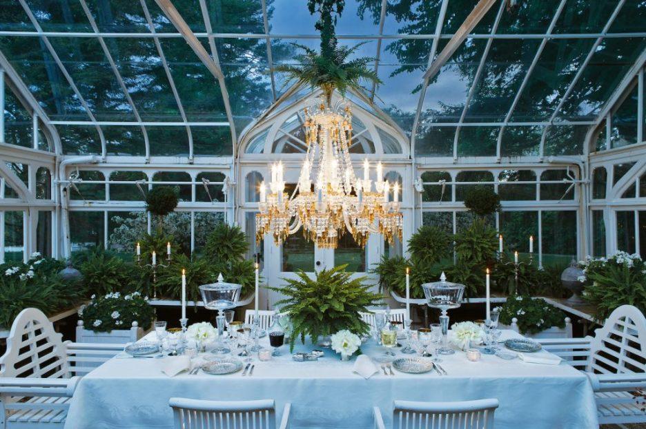 Carolyne Roehm A Constant Thread orangerie chandelier Fall 2018 Design Books