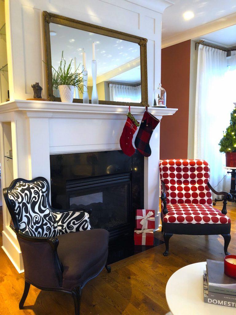 288 High Street Living Room 1 Christmas Holiday House Tour 2018