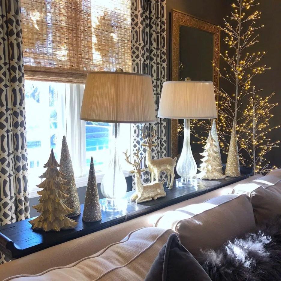 212 High Street Living Room 3 Christmas Holiday House Tour 2018