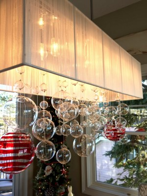 Newburyport Christmas pendant light ornaments hanging decor