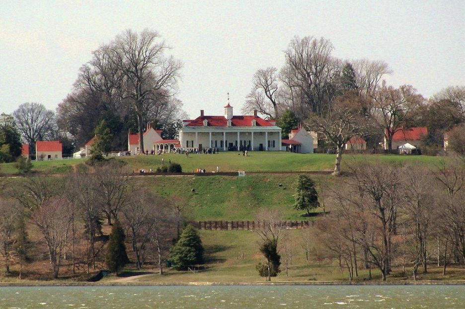 Mt. Vernon seen from the river