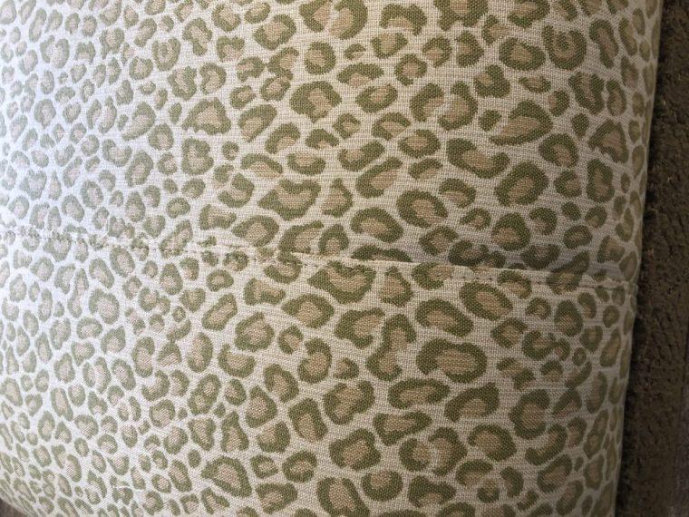 Linda Merrill decorative surroundings green animal print pattern mis-match Duxbury Massachusetts 02332 designer's net price
