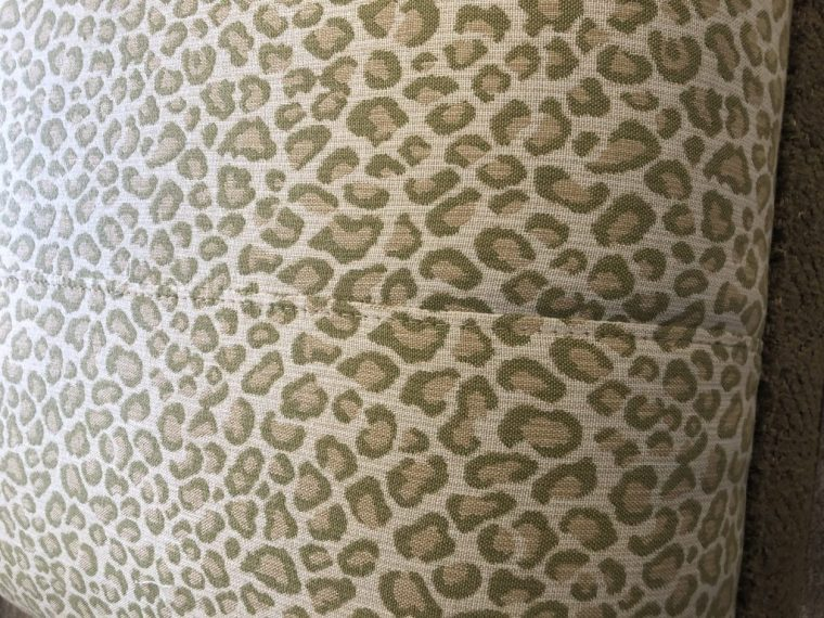 Linda Merrill decorative surroundings green animal print pattern mis-match Duxbury Massachusetts 02332 designer's net price