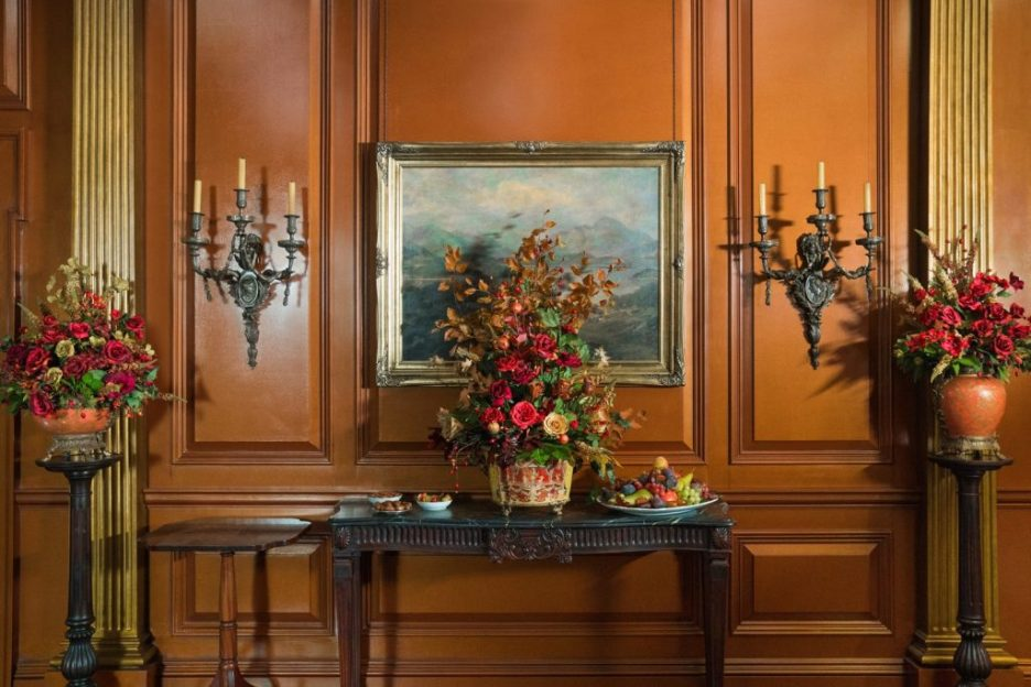 Starz Outlander River Run Panelled Wall Flowers