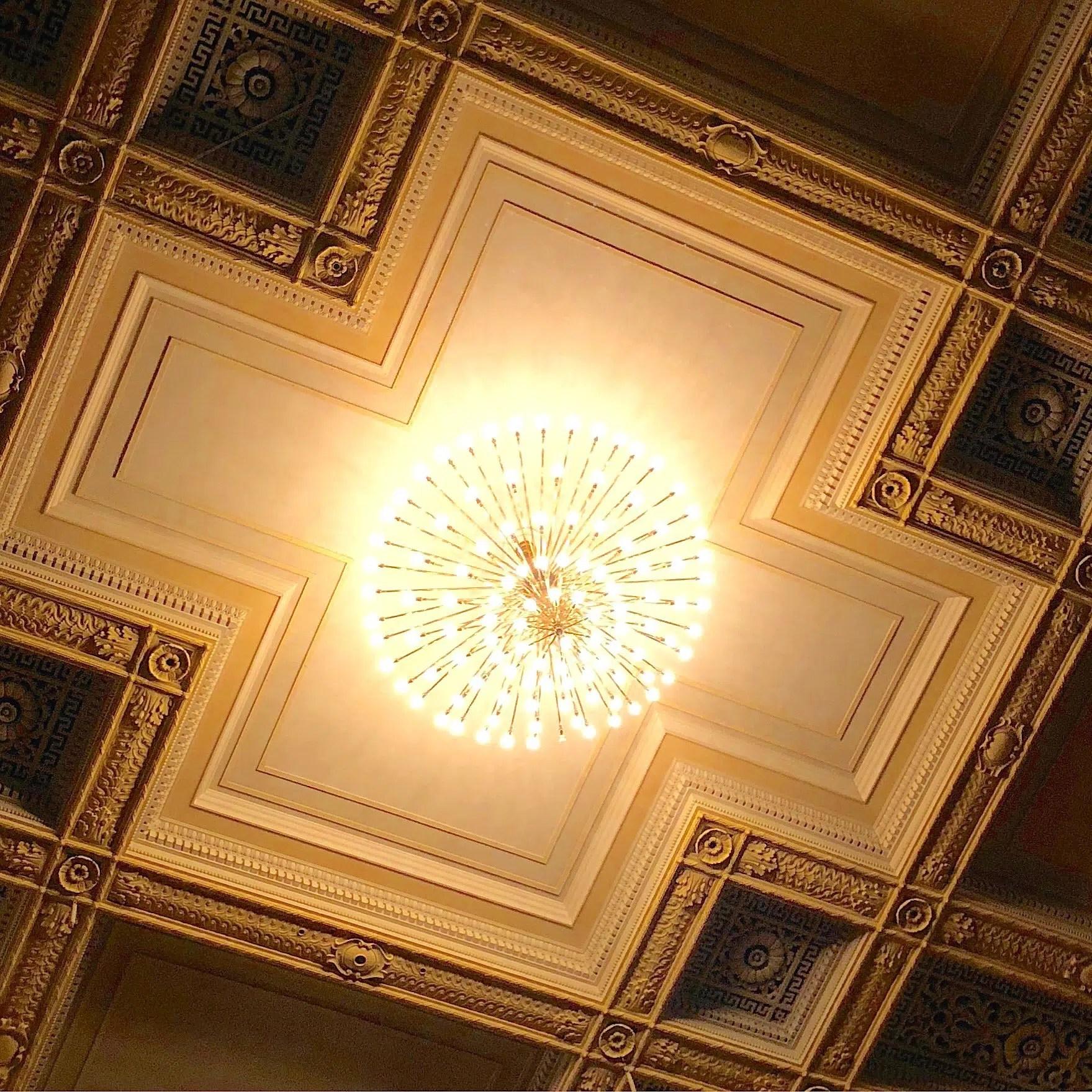 Boston Symphony Hall Ceiling 2 Boston Design Week 2019
