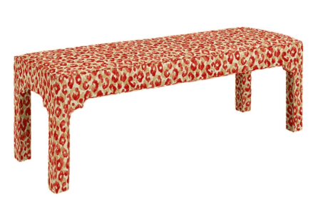 Linda Merrill ballard designs bench seat formal family friendly