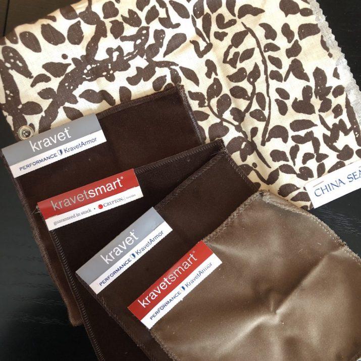Linda Merrill brown tan palette formal velvets family friendly