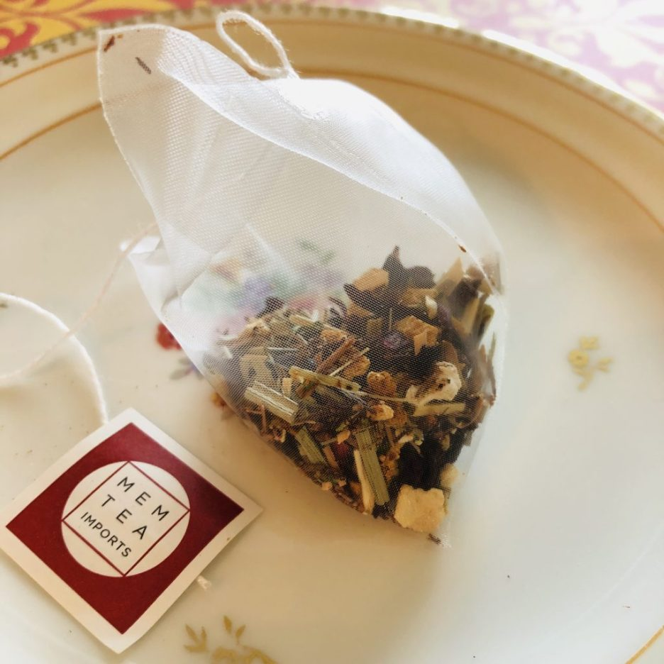 Linda Merrill Ladies High Tea Mem Tea bag