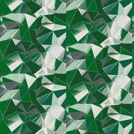 Root Cellar Designs Prism Cut Evergreen