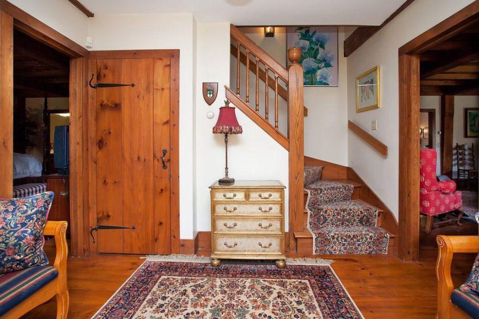 33 Tarragon Dr Sandwich MA Salem Witch House replica front hall