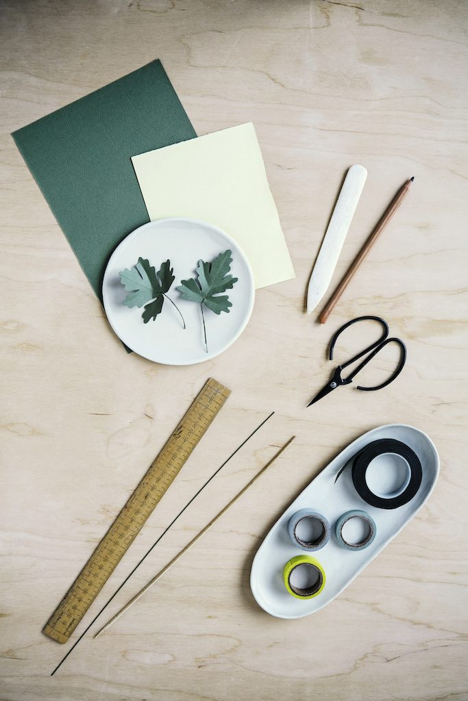 The Paper Florist tools Pg 70 paper flowers