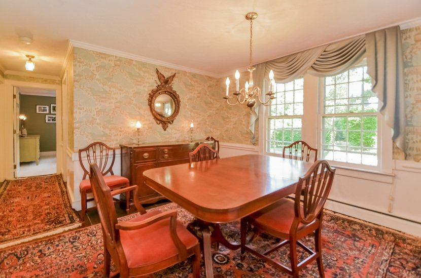 Dining Room set traditional federal downsizing fresh family heirlooms furniture