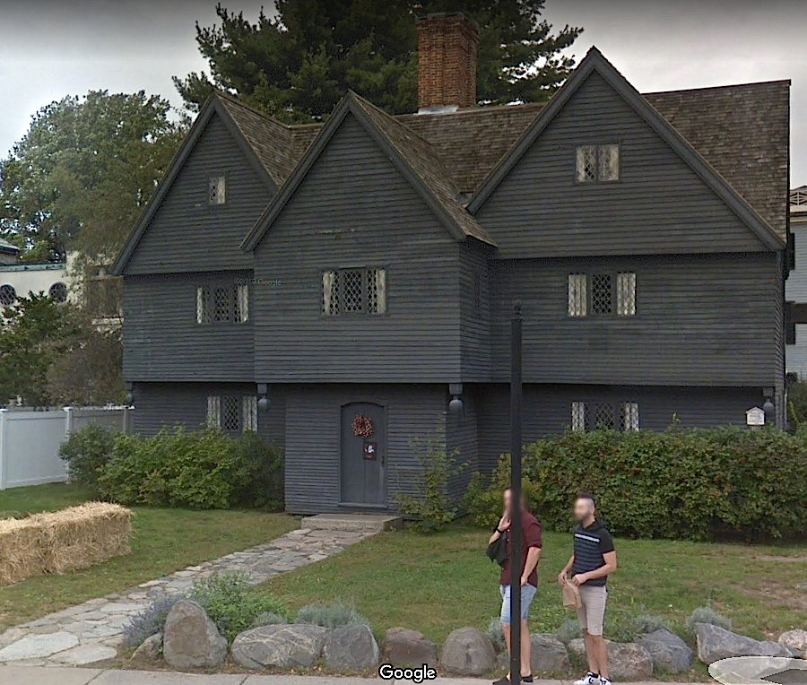 Salem Witch House Google street view