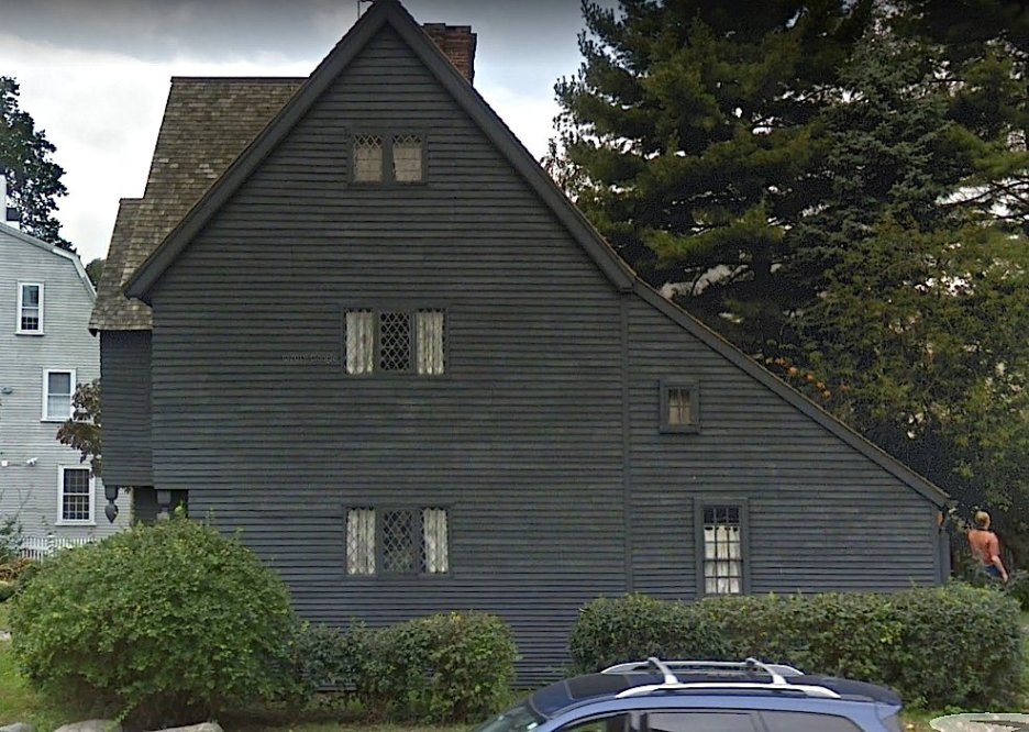 Salem Witch House street view side