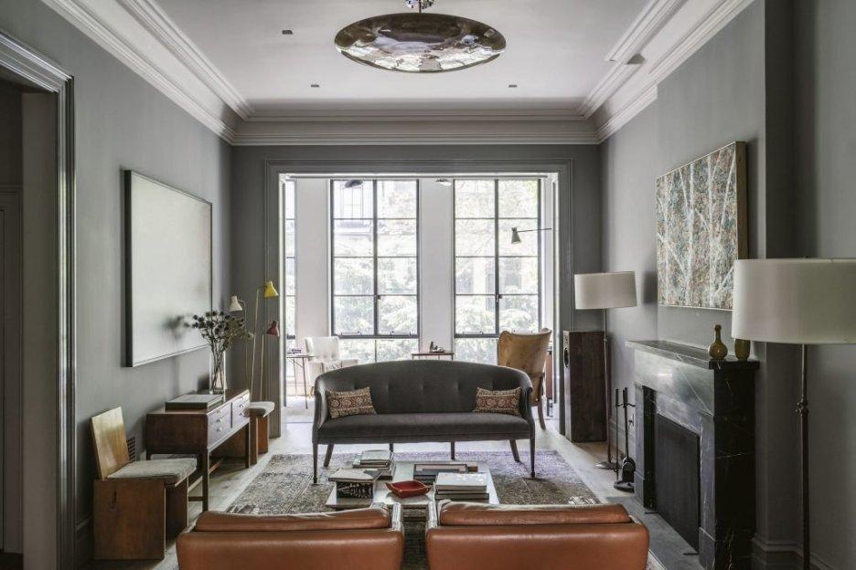 Farrow & Ball Recipes for Decorating Gray living room Spring 2019 Design Books
