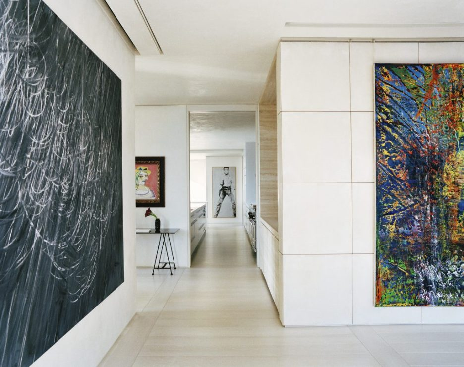 Houses Atelier AM modern gallery space