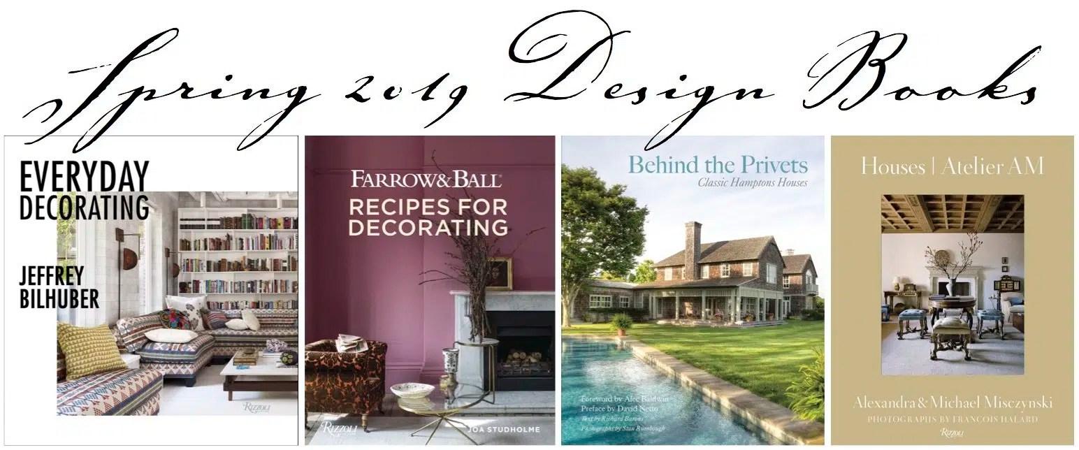 Spring 2019 Design Book header