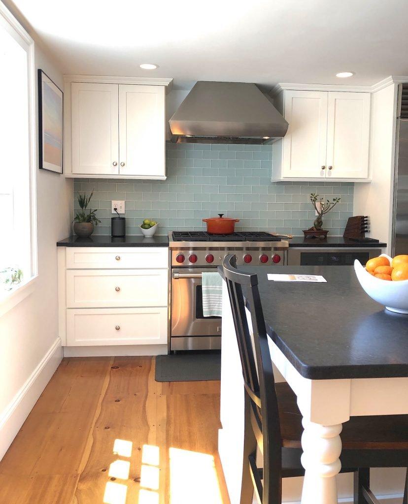 Atwood St Newburyport Kitchen mid-size stylish kitchens