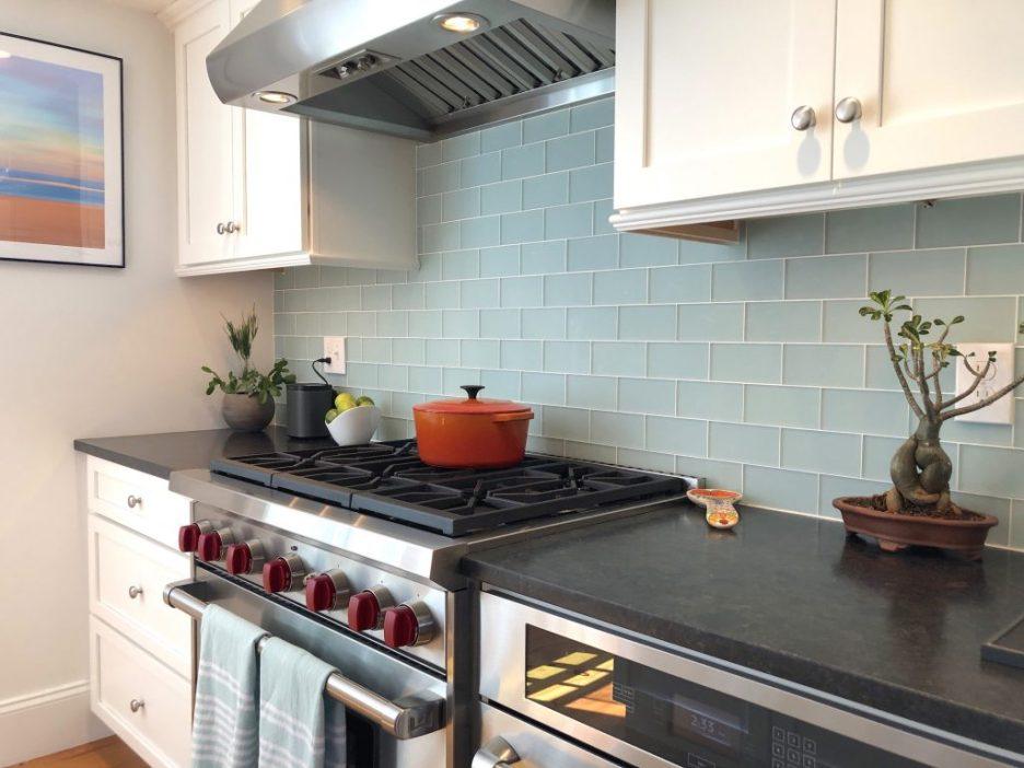 Atwood St Newburyport Kitchen 2 range mid-size stylish kitchen