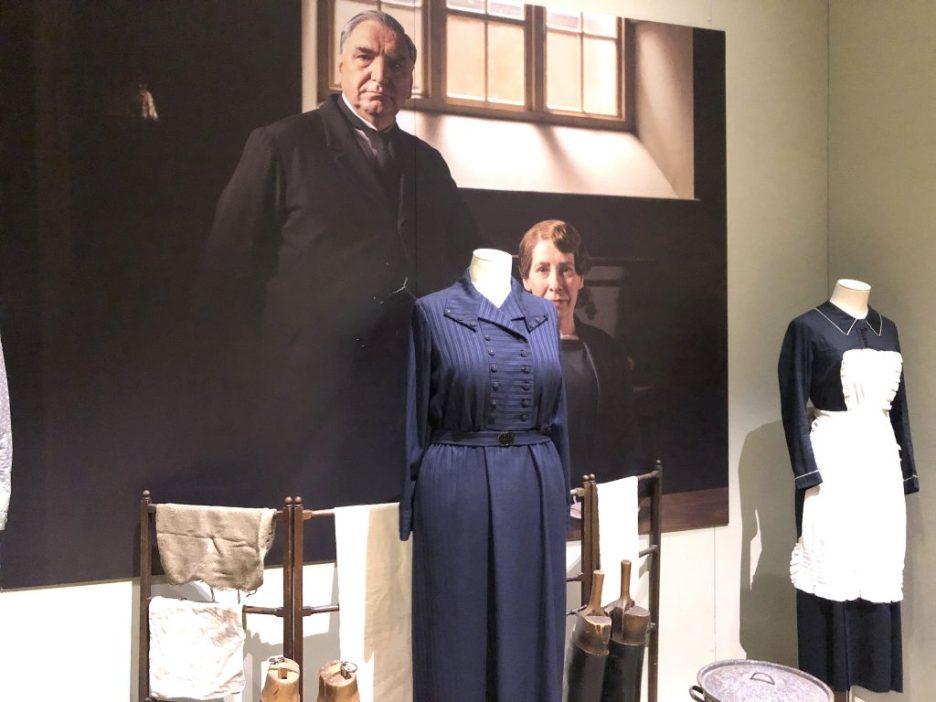 Downtairs Downton Abbey Exhibition Carson Hughes
