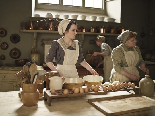 Downton Abbey kitchen cooking patmore daisy