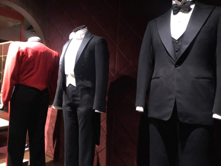 Gentleman's clothing Downton Abbey Exhibition 7282
